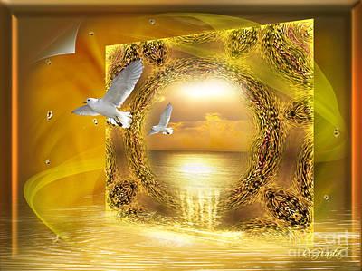 Art Print featuring the digital art Lucid Dream - Surreal Art By Giada Rossi by Giada Rossi