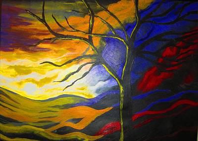 Painting - Lucid Dreams by Haleema Nuredeen