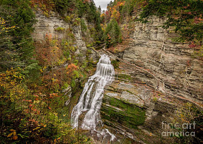 Photograph - Lucifer Falls by Brad Marzolf Photography
