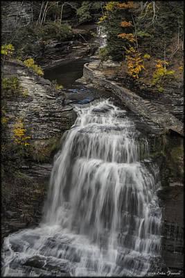 Photograph - Lucifer Falls by Erika Fawcett