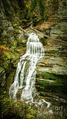 Photograph - Lucifer Falls Treman Park by Brad Marzolf Photography