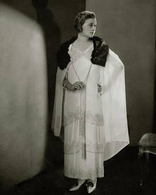 Watson Photograph - Lucile Watson In Costume by Edward Steichen
