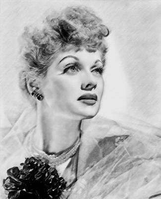 Lucille Ball Art Print