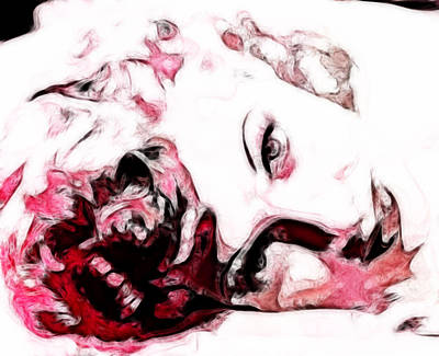 Lucille Ball Art Print by D Walton
