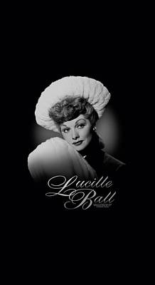 With Love Digital Art - Lucille Ball - Soft Portrait by Brand A