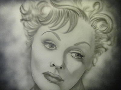 Photograph - Lucille Ball The Early Years Series II by Shawn Hughes