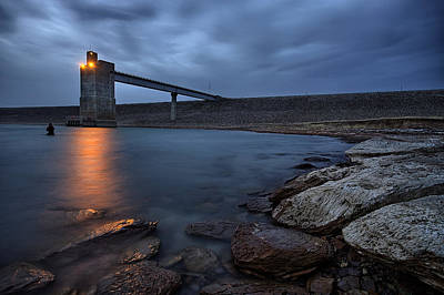 Dam Photograph - Lucky 13 by Thomas Zimmerman