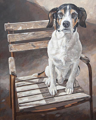 Commision Painting - Lucky by Anke Classen