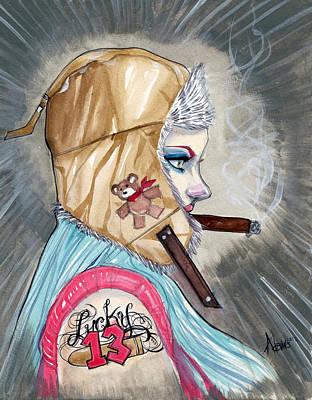 Lucky Bullet 13 Art Print