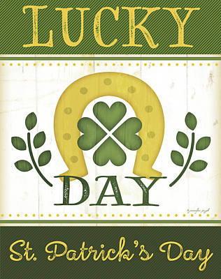 Lucky Day Art Print
