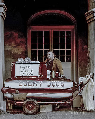Photograph - Lucky Dog Man by James  Dierker