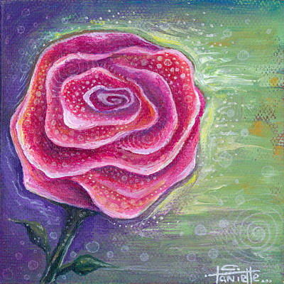 Painting - Lucky In Love by Tanielle Childers