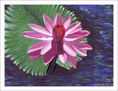 Painting - Lucky Lily by Carol Knapp