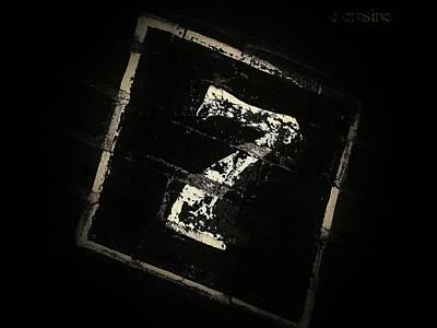 Photograph - Lucky Number Seven by Chris Berry