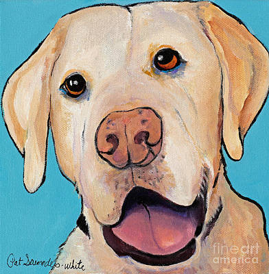 Painting - Lucky by Pat Saunders-White