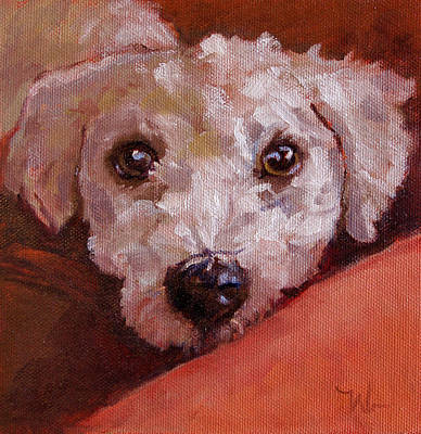 Painting - Lucky by Pattie Wall