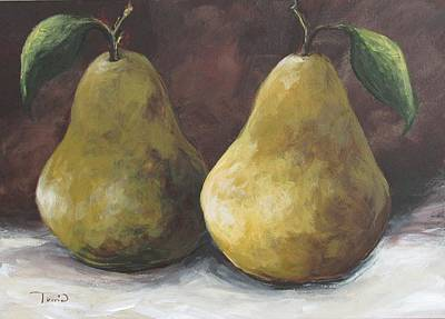 Painting - Lucky Pears II by Torrie Smiley