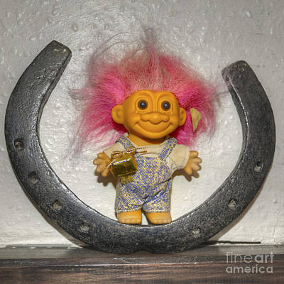 Lucky Troll Art Print by Rob Hawkins