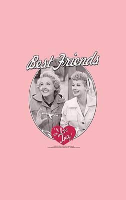 Lucille Ball Digital Art - Lucy - Best Friends by Brand A