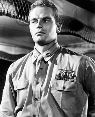 1955 Movies Photograph - Lucy Gallant, Charlton Heston, 1955 by Everett