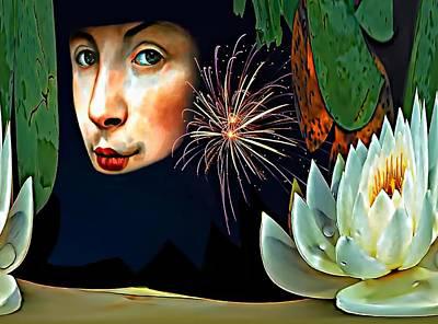 Steve Harrington Digital Art - Lucy In The Sky With Diamonds 2    by Steve Harrington