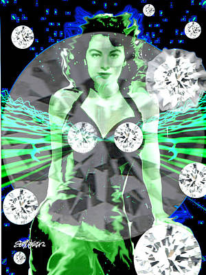 Lonely Hearts Club Band Digital Art - Lucy In The Sky With Diamonds by Seth Weaver