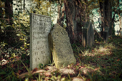 Graveyard Photograph - Lucy by Tom Mc Nemar