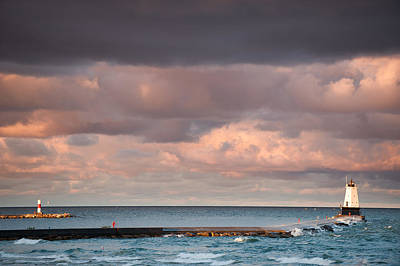 Photograph - Ludington by Sebastian Musial