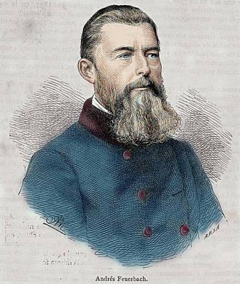 Ludwig Feuerbach (1804-1872 Art Print