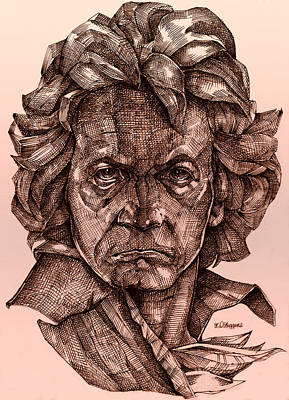 Ludwig Van Beethoven Original by Derrick Higgins