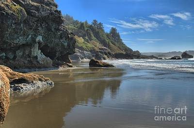 Photograph - Luffenholtz Beach by Adam Jewell