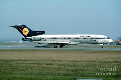 Lufthansa Boeing 727 Art Print