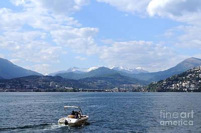 Photograph - Lugano  Switzerland by Haleh Mahbod