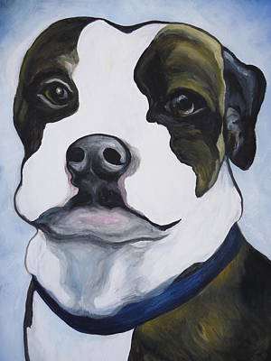 Painting - Lugnut Portrait by Leslie Manley