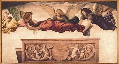 St. Catherine Of Siena Photograph - Luini, Bernardino 1480-1532. St by Everett