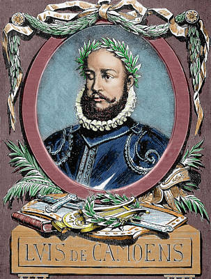 Carter Photograph - Luis Vaz De Camoes (1524-1580 by Prisma Archivo