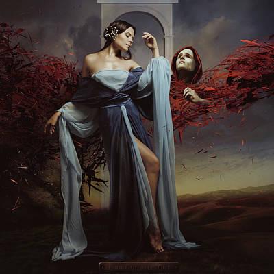 Surrealism Photograph - Luiza And Time by Igor_voloshin