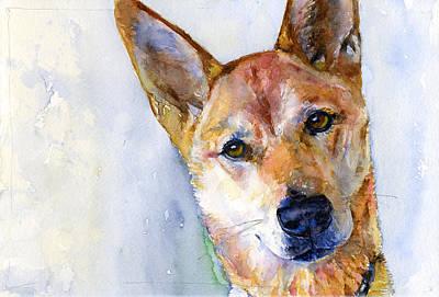 Painting - Luke by John D Benson