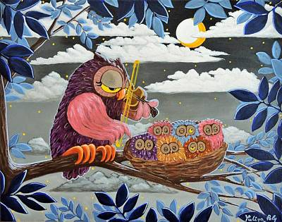Lullaby Painting - Lullaby by Yuliya Poly
