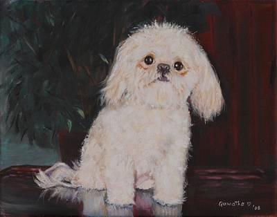Painting - Lulu by Quwatha Valentine