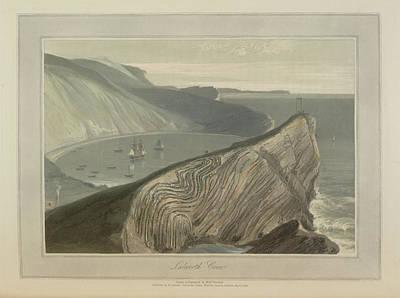 Lulworth Cove Art Print by British Library