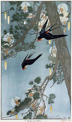 Lums Painting - Lum Bluebird, C1916 by Granger