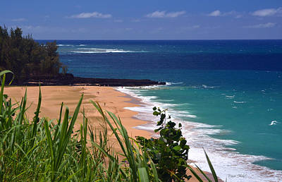 Photograph - Lumahai Beach Overlook by Marie Hicks