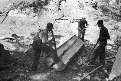 Lumberjacks, 1940 Art Print