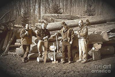 Lumberjacks Art Print by Robert Kleppin