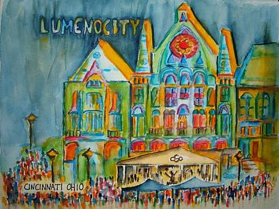 Lumenocity  Art Print
