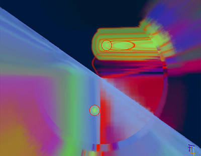Byron Fli Walker Digital Art - Luminaries by  Fli Art