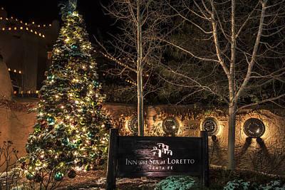 Photograph - Luminaries In Santa Fe by Dave Dilli