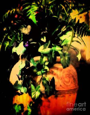 Flower Still Life Mixed Media - Luminosity by Gerlinde Keating - Galleria GK Keating Associates Inc