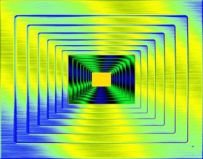 Will Power Digital Art - Luminous Energy 18 by Will Borden